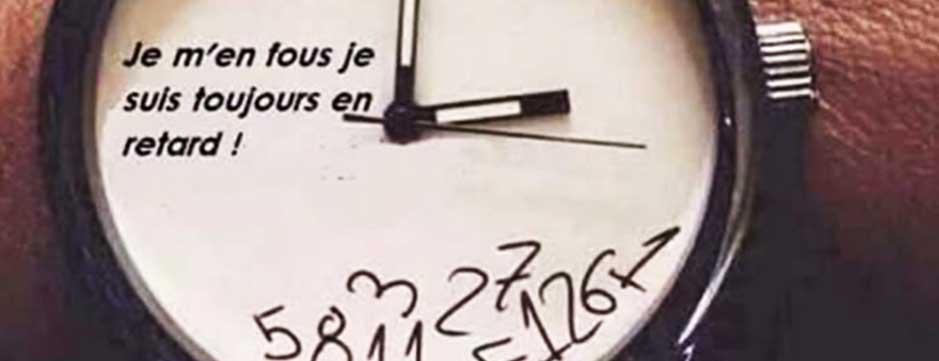 Je n'ai pas de temps !