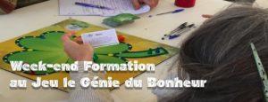 Paris :  Formation au jeu Le Génie du Bonheur
