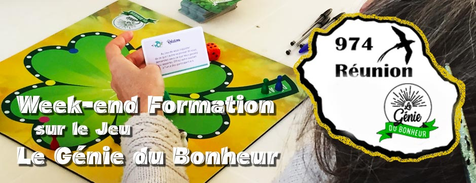 Ile de La Réunion : Formation au jeu Le Génie du Bonheur